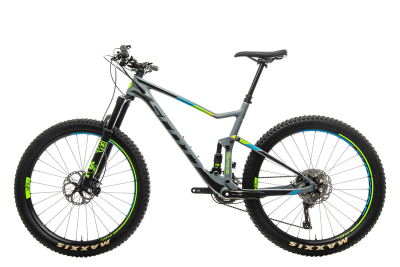 Scott Spark 710 Plus Mountain Bike - 2017, Large non-drive side