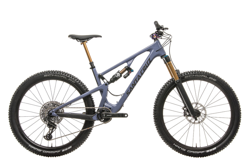 Santa Cruz 5010 CC X01 Mountain Bike - 2019, Medium drive side