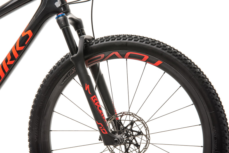 Specialized S-Works Epic Mountain Bike - 2019, X-Large cockpit
