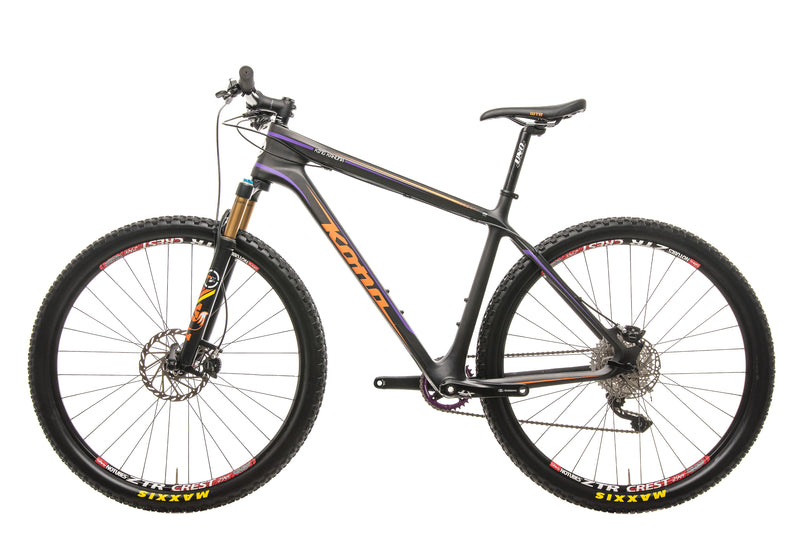 "Kona King Kahuna Mountain Bike - 2015, 20"" non-drive side"