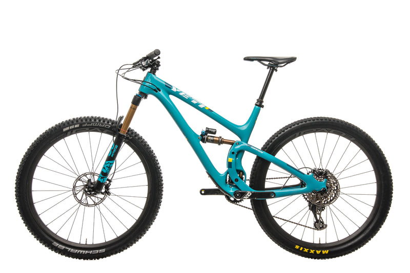 Yeti SB5.5 Turq Mountain Bike - 2018, Large non-drive side