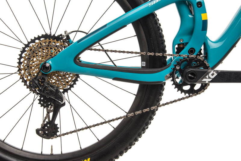 Yeti SB5.5 Turq Mountain Bike - 2018, Large drivetrain