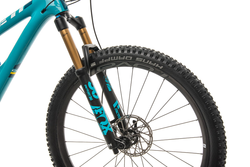 Yeti SB5.5 Turq Mountain Bike - 2018, Large cockpit