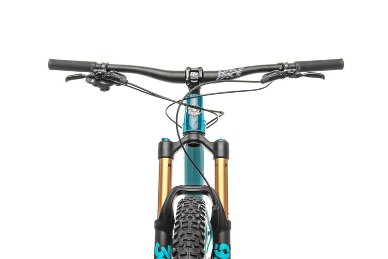 Yeti SB5.5 Turq Mountain Bike - 2018, Large crank