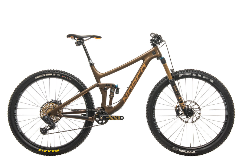 Norco Sight Carbon 29 Mountain Bike - 2019, Large drive side