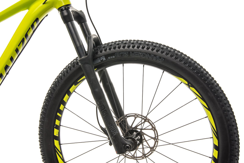 Specialized Fuse Comp 6Fattie Mountain Bike - 2019, Small front wheel