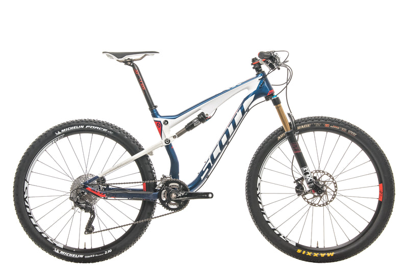 Scott Spark 710 Mountain Bike - 2015, Medium drive side