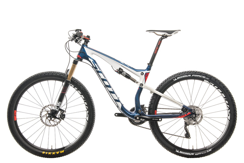 Scott Spark 710 Mountain Bike - 2015, Medium non-drive side