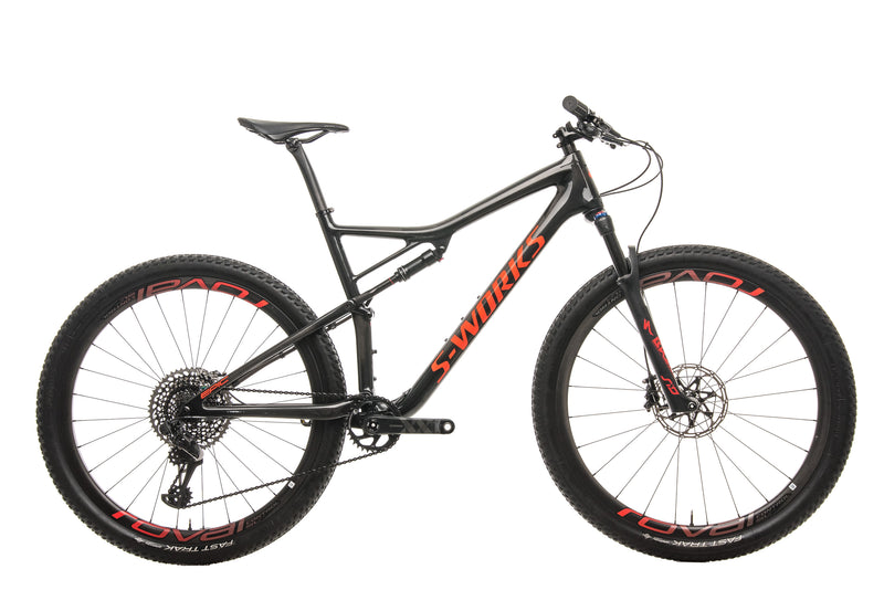 Specialized S-Works Epic Mens Mountain Bike - 2019, X-large drive side