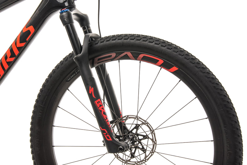 Specialized S-Works Epic Mens Mountain Bike - 2019, X-large cockpit