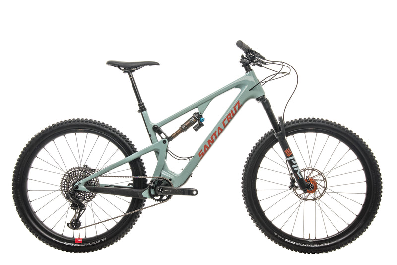 Santa Cruz 5010 CC X01 Reserve Mountain Bike - 2020, Large drive side