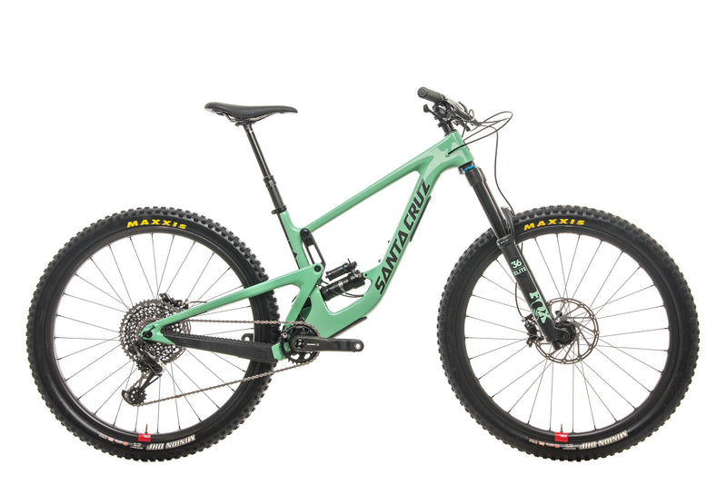 Santa Cruz Megatower CC X01 Reserve Mountain Bike - 2020, Medium drive side