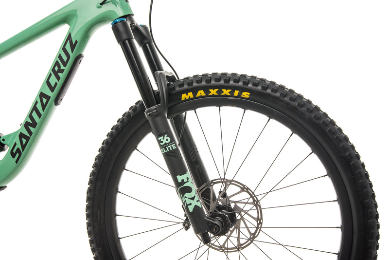 Santa Cruz Megatower CC X01 Reserve Mountain Bike - 2020, Medium cockpit