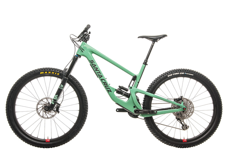Santa Cruz Megatower CC X01 Reserve Mountain Bike - 2020, X-Large non-drive side
