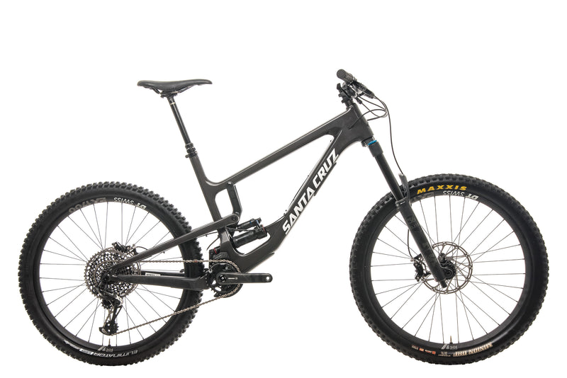 Santa Cruz Nomad CC X01 Mountain Bike - 2020, X-Large drive side
