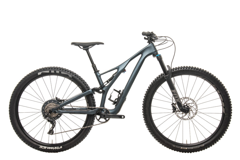 Specialized Stumpjumper ST Comp Carbon 29 Mens Mountain Bike - 2019, Small drive side