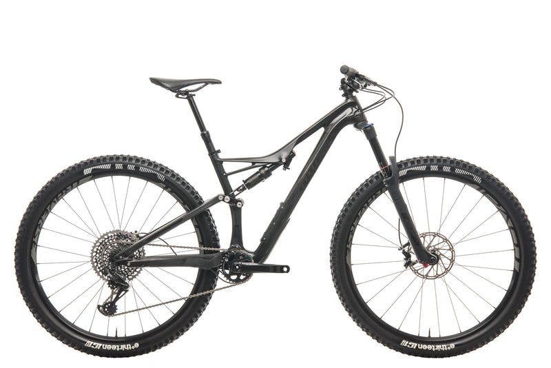 Specialized Stumpjumper Pro Mountain Bike - 2017, Medium drive side