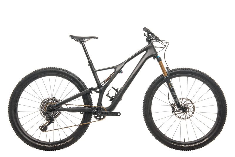 Specialized S-Works Stumpjumper ST Mountain Bike - 2019, Large drive side