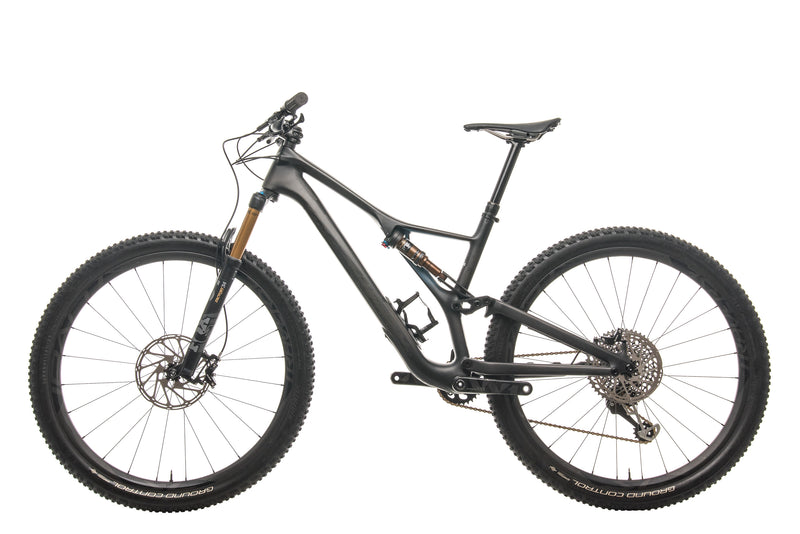 Specialized S-Works Stumpjumper ST Mountain Bike - 2019, Large non-drive side