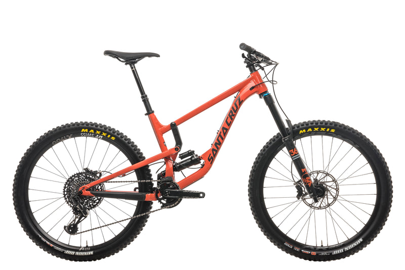 Santa Cruz Nomad Aluminum S Mountain Bike - 2019, Medium drive side