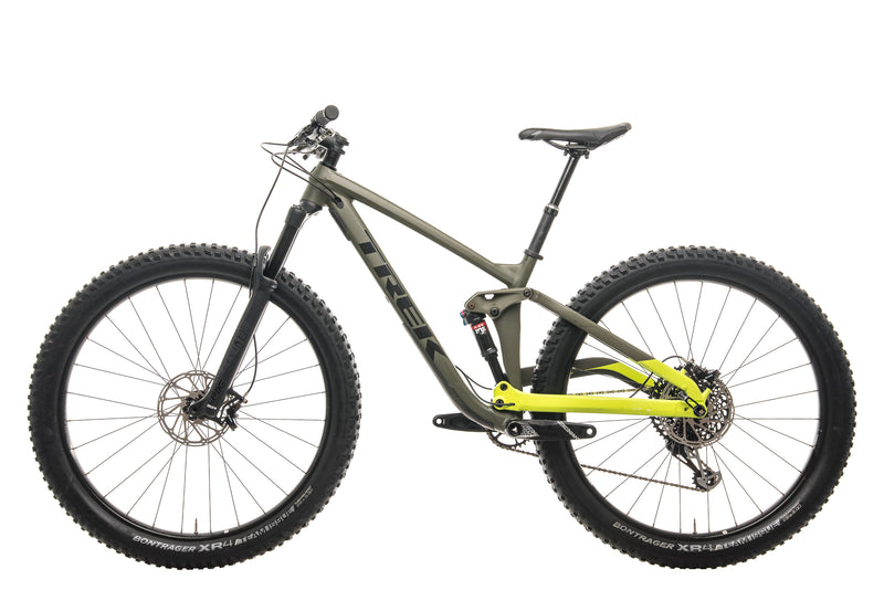"Trek Full Stache 8 Mountain Bike - 2018, 17.5"" non-drive side"