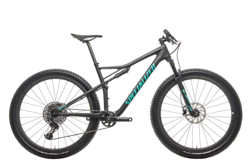 Specialized Epic Pro Mountain Bike - 2019, Large drive side