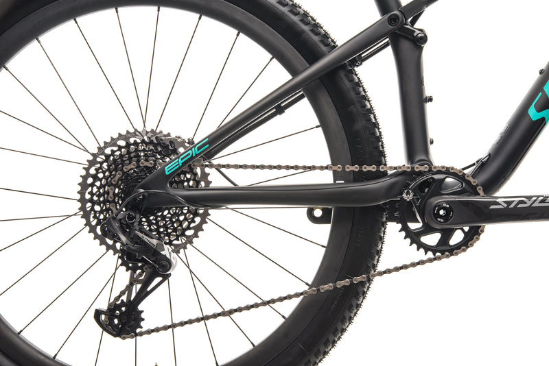 Specialized Epic Pro Mountain Bike - 2019, Large drivetrain
