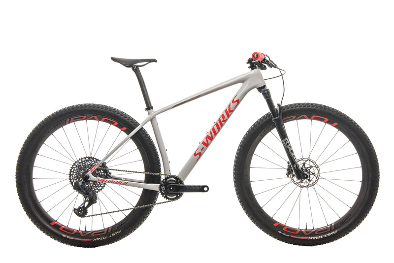 Specialized S-Works Epic Hardtail AXS Mountain Bike - 2020, Medium drive side