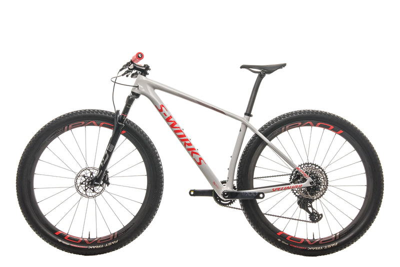 Specialized S-Works Epic Hardtail AXS Mountain Bike - 2020, Medium non-drive side