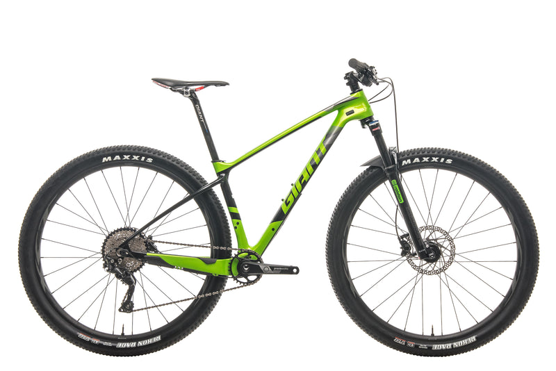 Giant XTC Advanced 29 3 Mountain Bike - 2019, Small drive side