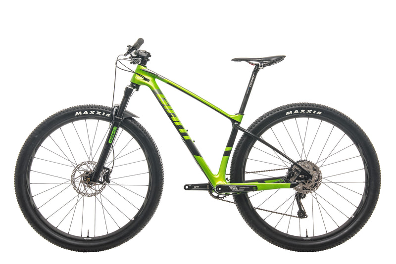 Giant XTC Advanced 29 3 Mountain Bike - 2019, Small non-drive side