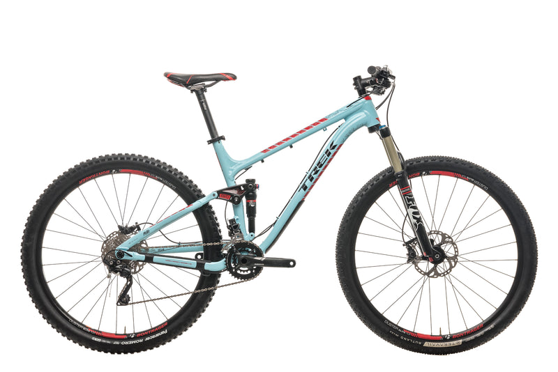 "Trek Fuel EX 8 29 Mountain Bike - 2015, 19.5"" drive side"