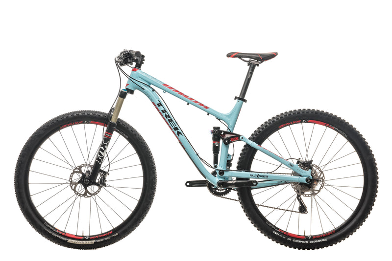 "Trek Fuel EX 8 29 Mountain Bike - 2015, 19.5"" non-drive side"