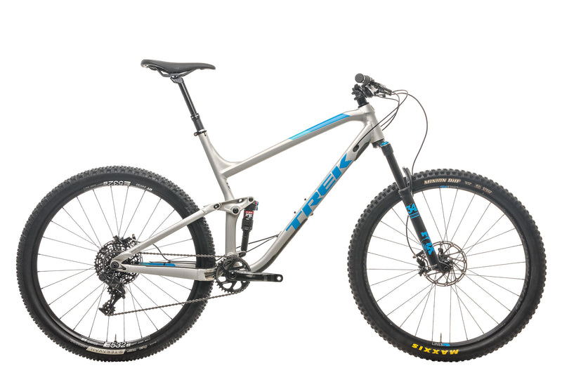 "Trek Fuel EX 9 Mountain Bike - 2017, 23"" drive side"