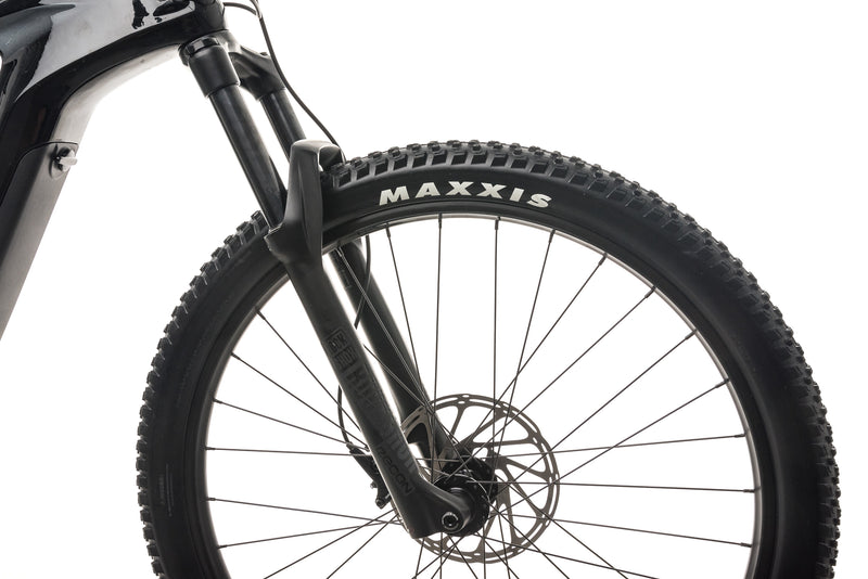 Cannondale Habit Neo 4 Mountain E-Bike - 2020, X-Large cockpit