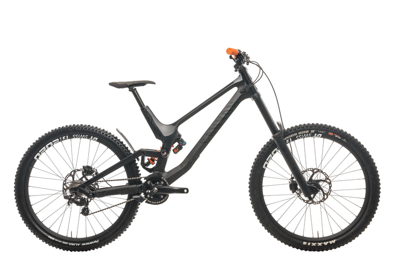 Canyon Sender CF 8.0 Downhill Mountain Bike - 2019, Large drive side
