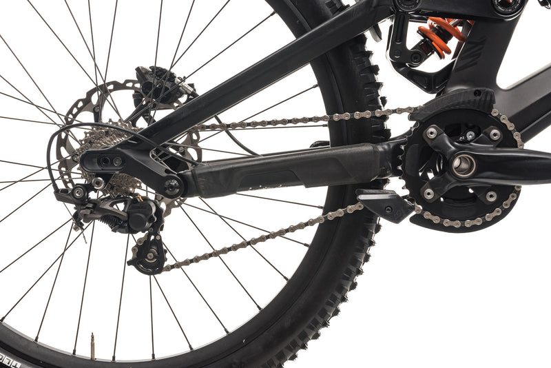 Canyon Sender CF 8.0 Downhill Mountain Bike - 2019, Large drivetrain