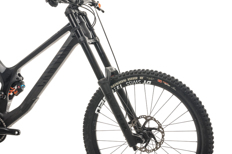 Canyon Sender CF 8.0 Downhill Mountain Bike - 2019, Large cockpit