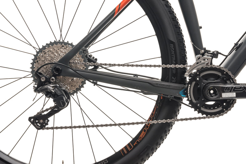"Trek ProCaliber 9.7 Mountain Bike - 2018, 19.5"" drivetrain"