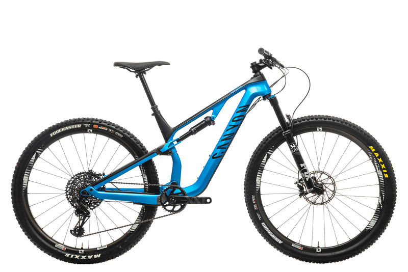Canyon Neuron CF 9.0 SL Mountain Bike - 2019, Medium drive side