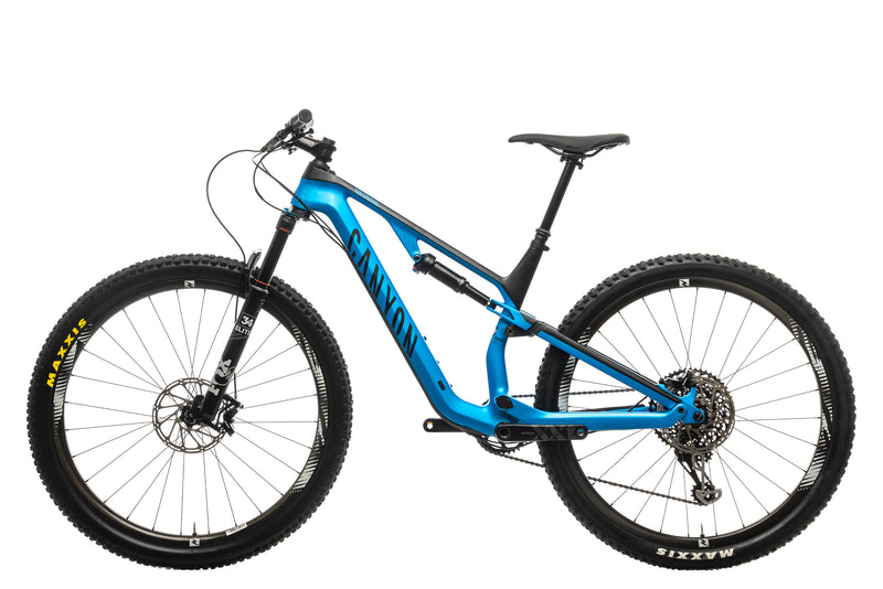 Canyon Neuron CF 9.0 SL Mountain Bike - 2019, Medium non-drive side