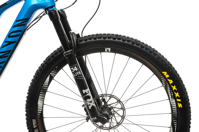 Canyon Neuron CF 9.0 SL Mountain Bike - 2019, Medium cockpit