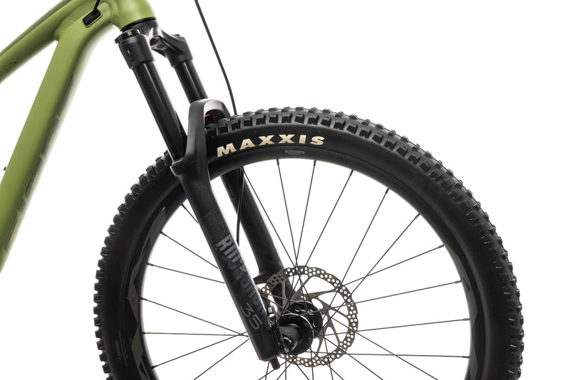 Giant Trance 3 Mountain Bike - 2020, X-Small cockpit