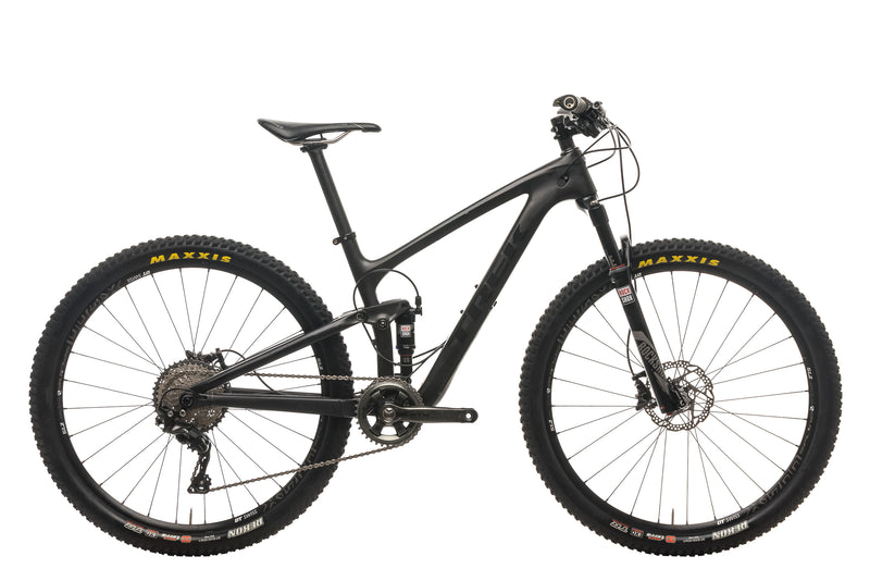 "Trek Top Fuel 9.8 SL Mountain Bike - 2016, 15.5"" drive side"