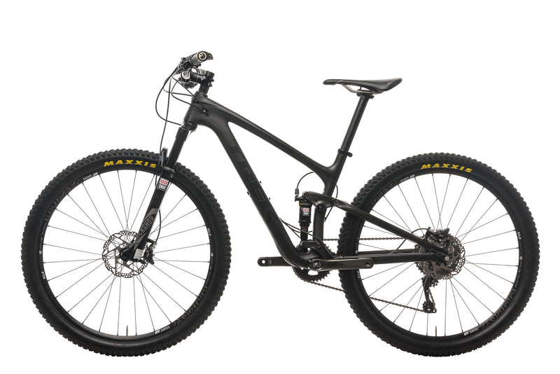 "Trek Top Fuel 9.8 SL Mountain Bike - 2016, 15.5"" non-drive side"