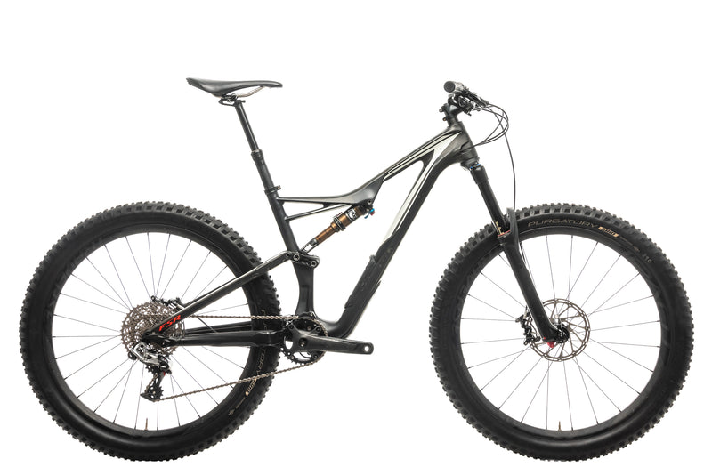Specialized S-Works Stumpjumper FSR Carbon 650B Mountain Bike - 2016, Medium drive side