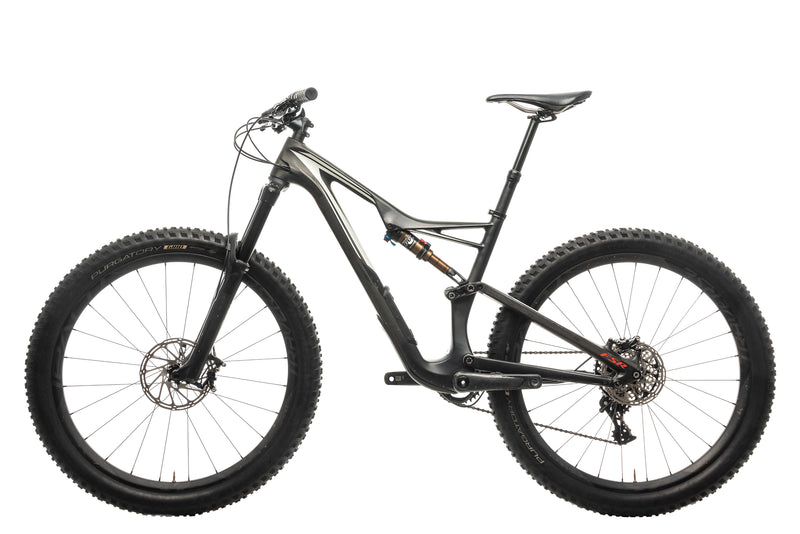 Specialized S-Works Stumpjumper FSR Carbon 650B Mountain Bike - 2016, Medium non-drive side