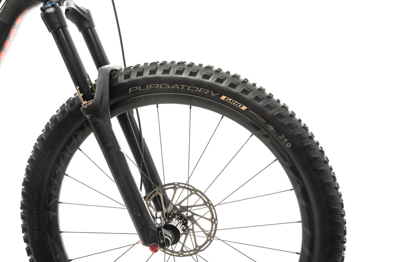 Specialized S-Works Stumpjumper FSR Carbon 650B Mountain Bike - 2016, Medium cockpit