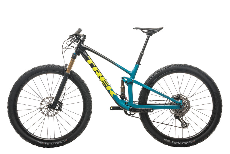 Trek Top Fuel 9.9 Mountain Bike - 2020, Medium non-drive side