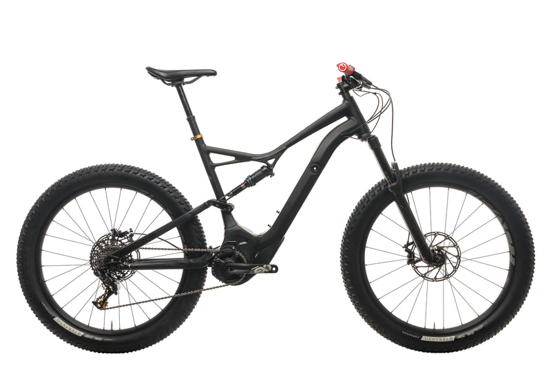 Specialized Turbo Levo FSR Comp 6Fattie Mountain E-Bike - 2018, X-Large drive side